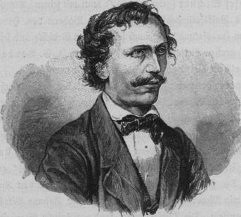 Franz Michael Felder, Porträt von Wilhelm Hecht.